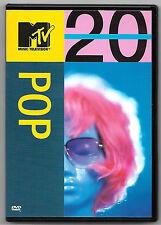 DVD / MTV MUSIC TELEVISION 20 POP (MUSIQUE CONCERT)