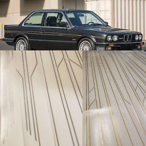 BMW e30 Bespoke ALPINA Side Stripe Set