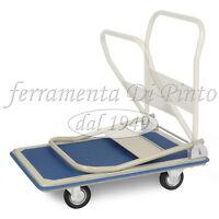 Carro Mango Plegable Plataforma KG 150 Quattro 4 Ruedas MM 100 Baca