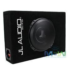 """JL AUDIO CS110LG-TW3 10"""" SEALED PowerWedge SUBWOOFER ENCLOSURE BOX w/ 10TW3 SUB"""