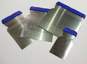 PREP Stainless Steel Bladed Euro Filling Knives 4-Pack