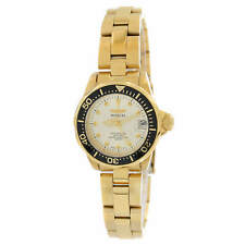 Invicta Women's Watch Pro Diver Gold Tone Dial Stainless Steel Bracelet 17038