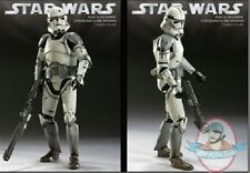 1/6 Star Wars 41st Elite Corps Coruscant Clone Trooper Sideshow Used