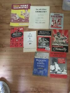 9 Gilbert Chemistry Chemcraft Manuals Catalogs