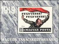 Hungary 1969 Republic 50th Anniversary/Poster/Art/Politics/Workers 1v m/s hx1020