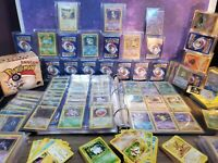 Vintage Pokemon Cards - 20 Card Lot - 100% WOTC Sets! Holos Rares 1st 1999-2000
