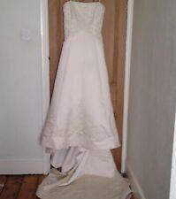 Wedding Dress Benjamin Roberts Plus Size A Line Size 22
