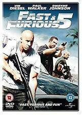 Fast & Furious 5 [DVD] [2011], , Used; Good DVD