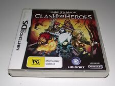 Might and Magic Clash of Heroes Nintendo DS 2DS 3DS Game *Complete*