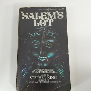 Salem's Lot Stephen King Paperback First Signet Printing Aug 1976 USA VTG (eh)