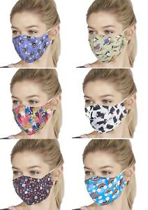 Eco Chic - Reusable / Washable / Adjustable Cloth Face Masks - Face Coverings