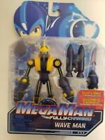 Mega Man: Fully Charged Toy Figure Wave Man 5 Inch Figure