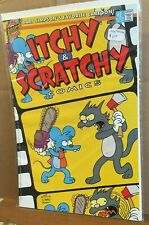 Itchy and Scratchy #2, Bongo Comics Group, VF/VF+, Matt Groening, Bart Simpson