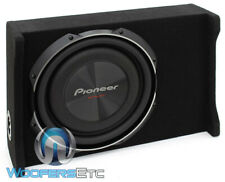 "pkg PIONEER TS-SW3002S4 12"" 1500W SHALLOW MOUNT SUBWOOFER ENCLOSURE BASS SPEAKER"