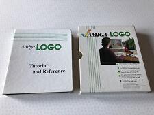 Amiga LOGO - Tutorial & Reference -  Commodore Amiga Boxed