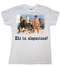 T-Shirt Film Bud Spencer Terence Hill Ehi tu elegantone Lo chiamavano Trinità