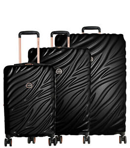 Delsey Paris Alexis 3-Piece Lightweight Luggage Set with TSA Lock