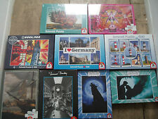 VARIOUS  SCHMIDT   JIGSAW PUZZLES SELECT FROM 1000 <3000<500  piece  NEW SEALED