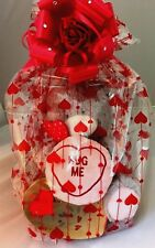 VALENTINES DAY LARGE TEDDY AND HEART BOX OF FERRERO ROCHER GIFT SET