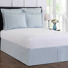 Wrap-Around Wonderskirt California King Bed Skirt in Light Blue