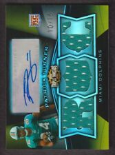 2009 Topps Triple Threads Football Gold #128 Patrick Turner Auto Jersey 10/15