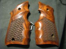 "Ruger Mark Mk IV ONLY Rosewood ""Basketweave"" FG Target Pistol Grips -Beautiful!"