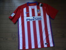 Atletico Madrid 100% Original Jersey Shirt L 2015/16 Home Still BNWT NEW Rare