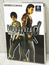 BIOHAZARD 0 ZERO Resident Evil Perfect Guide Book FT70*