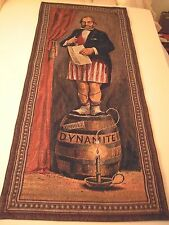 Disney Disney-land Haunted Mansion Stretch Rm Tapestry-Man on Dynamite Barrel LE