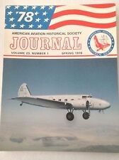 AAHS Journal Airplane Magazine Kellett KD-1 Spring 1978 121316rh
