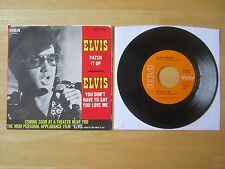 Elvis 45rpm record & Sleeve, Patch It Up/You Don't Have To Say You Love Me, 1970