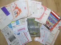 Large Selection of Theatre Programmes from the 1920's, 1930's, 1940's, some 50's