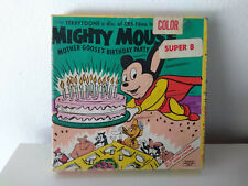 Vintage Mighty Mouse Color Super 8 Mother Goose's Birthday Party 1962 Ken Films