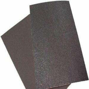 60 Grit Floor Sandpaper 12x18 Orbital Sander Pressure Sensitive Adhesive 20 Pack