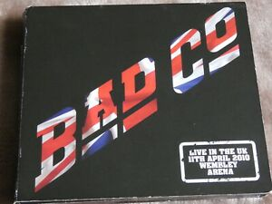BAD COMPANY LIVE IN THE UK WEMBLEY ARENA 2010 CD