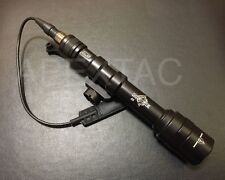 Night Evolution M600AA Scout Light Tactical Rail Mount LED Flashlight AA Battery