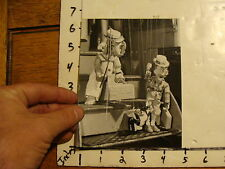 Vintage Puppet Marionette  Photo: RUTH & DON GILPIN elephant, man, small animal