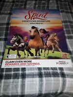 Dreamworks Spirit Gamestop Exclusive Promo Poster