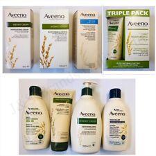 Aveeno Daily Moisturising Cream, Lotion, Bodywash, Skin Relief B/W, Triple Pack