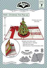 Karen Burniston 1020 - Christmas Tree POP-UP DIE SET 7 pieces Wafer Thin