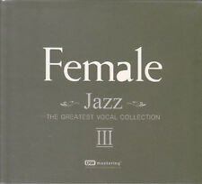"""Female Jazz Vol.3 - The Greatest Vocal Collection"" 24bit 96kHz Audiophile 2-CD"