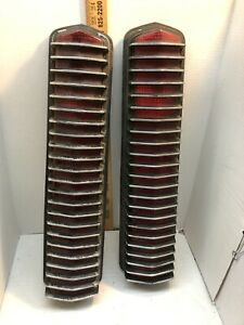1967 - 1968 Mercury Cougar Tail Lights Assembly also Fits Mustang Shelby