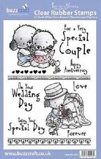 BUZZCRAFT Paws-Fur-a-Moment A5 Stamp - Wedding