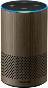 Amazon Echo (2nd Generation) Smart Assistant - Walnut Finish Limited Edition