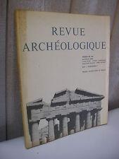 REVUE ARCHEOLOGIQUE 1971 n°1 Kiérion en Thessalie allégorie de l'Egypte ........