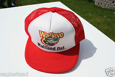 Ball Cap Hat - Walleye - Maitland Ontario - Fishing Tourist (H1047)