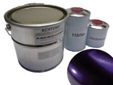 5 litros Kit 2k Pintura Dream Violeta Metálico ninguna Laca Transparente