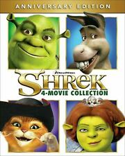 Shrek : 4 movies collection 1-4 Dvd New & Sealed