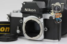 """EXC+++"" Nikon F2A Photomic 35mm SLR Film Camera Silver Body w/ Case From Japan"