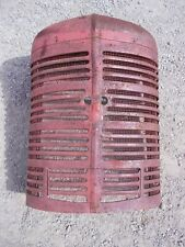 Farmall M Mv Ih Tractor Nice Orig Front Nose Cone Grill With Screen Amp Insert Panel